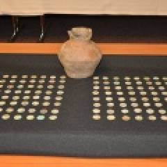 Řeteč - nález mincí z 11. století